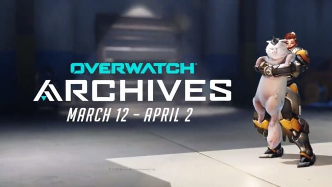 New Overwatch emote lets you pet the cat (kind of)
