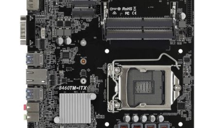 ASRock lance B460, H410 Thin Mini-ITX Motherboards For Comet Lake-S CPU